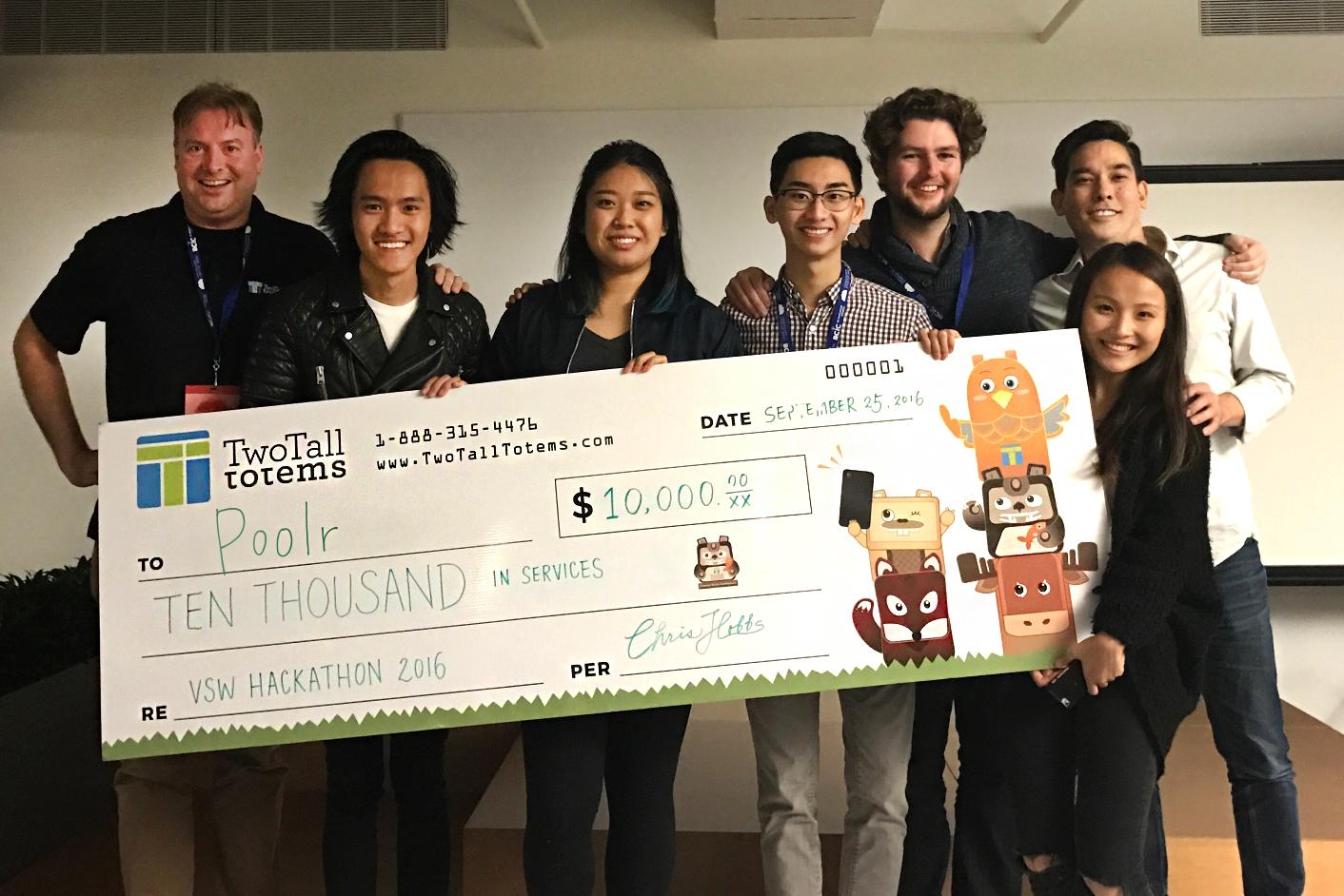 VSW Hackathon Winners Poolr