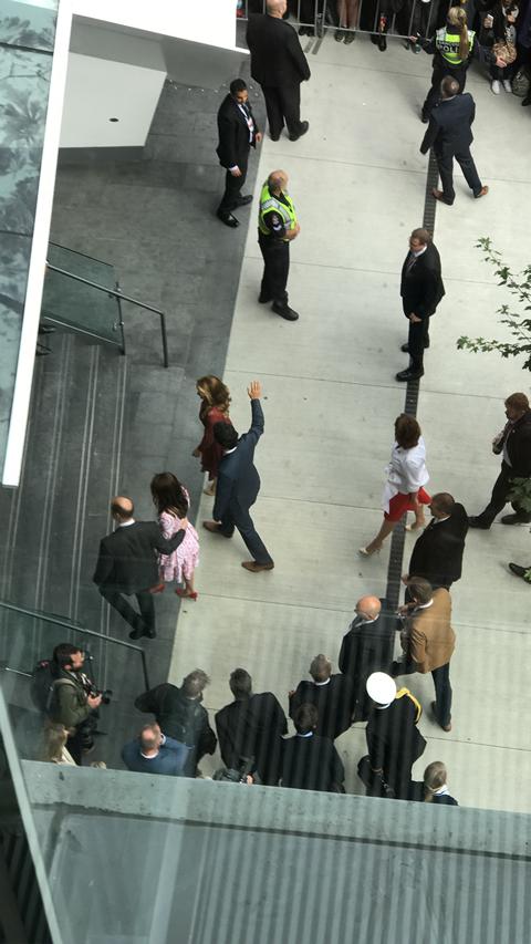 Prince William, Prime Minister Trudeau visit Vancouver
