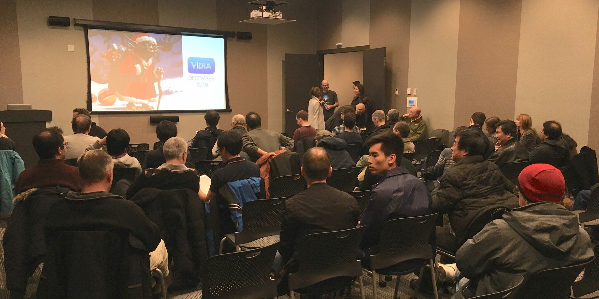 ViDIA's Last Meetup of the Year!