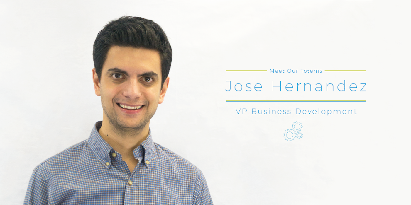 Meet our totems Jose Hernandez