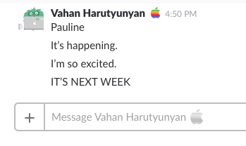 Vahan Goes to WWDC