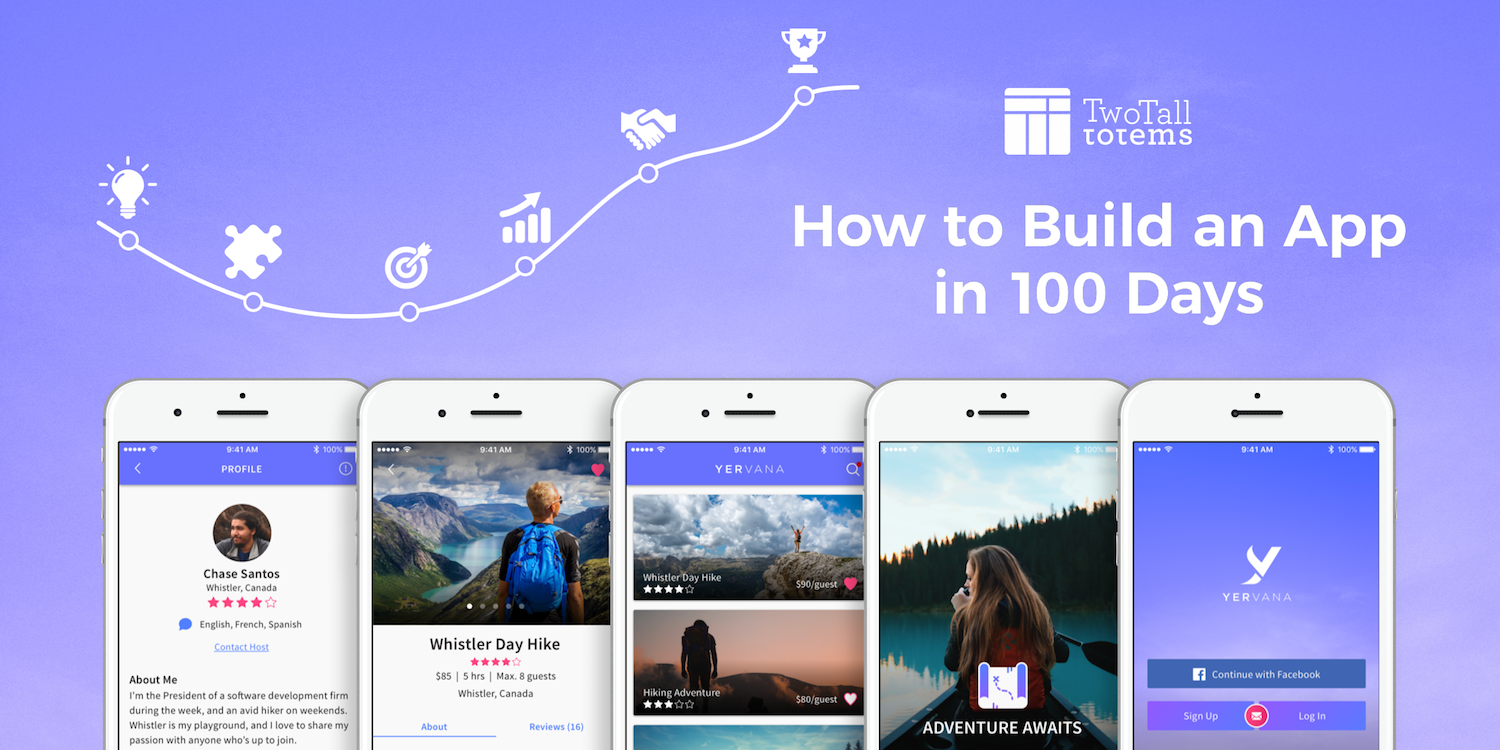 How to build an app in 100 days