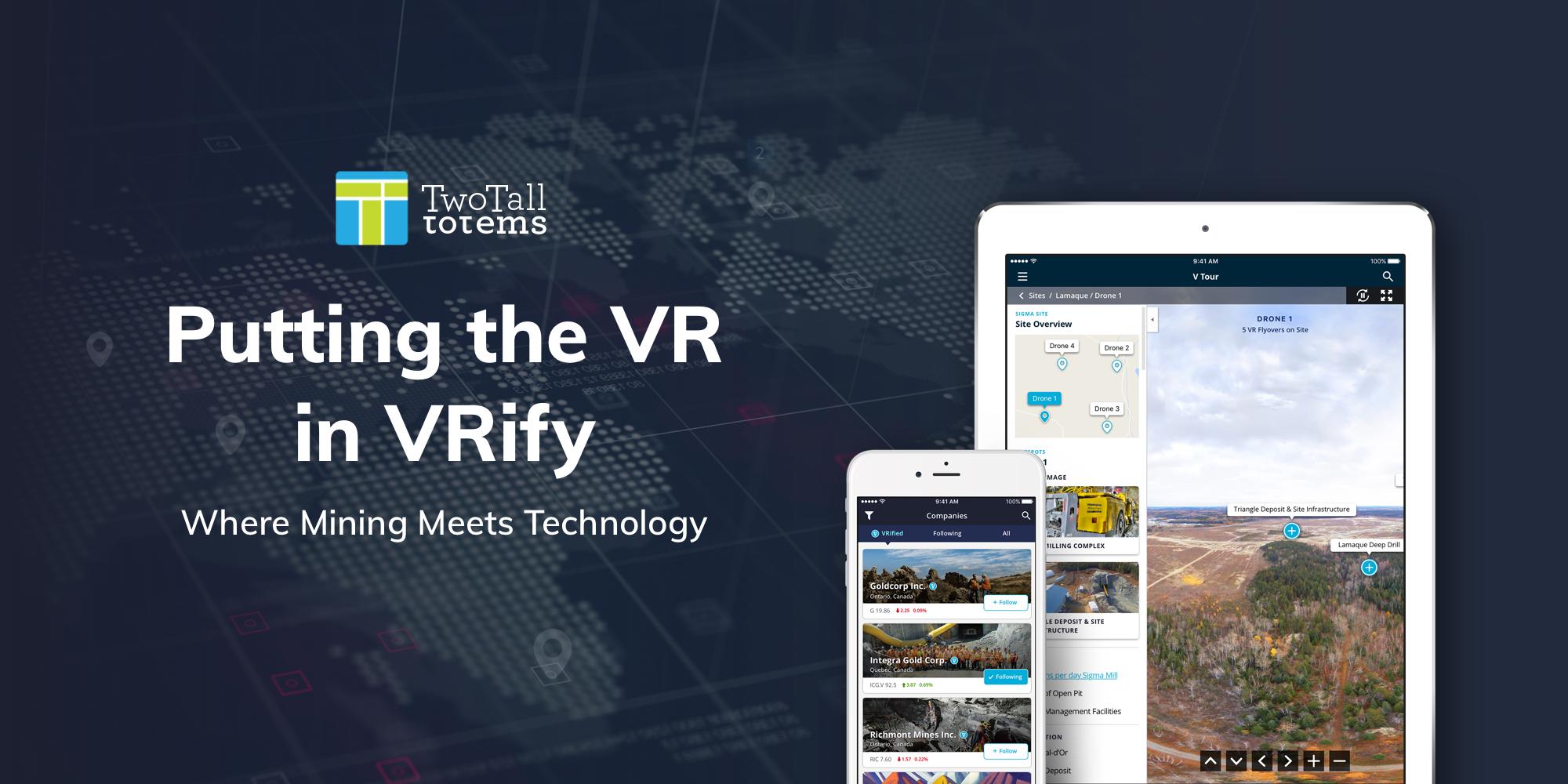 VRify Where mining meets technology