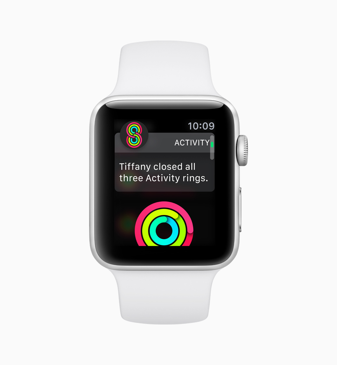 Example of activities app on watchOS