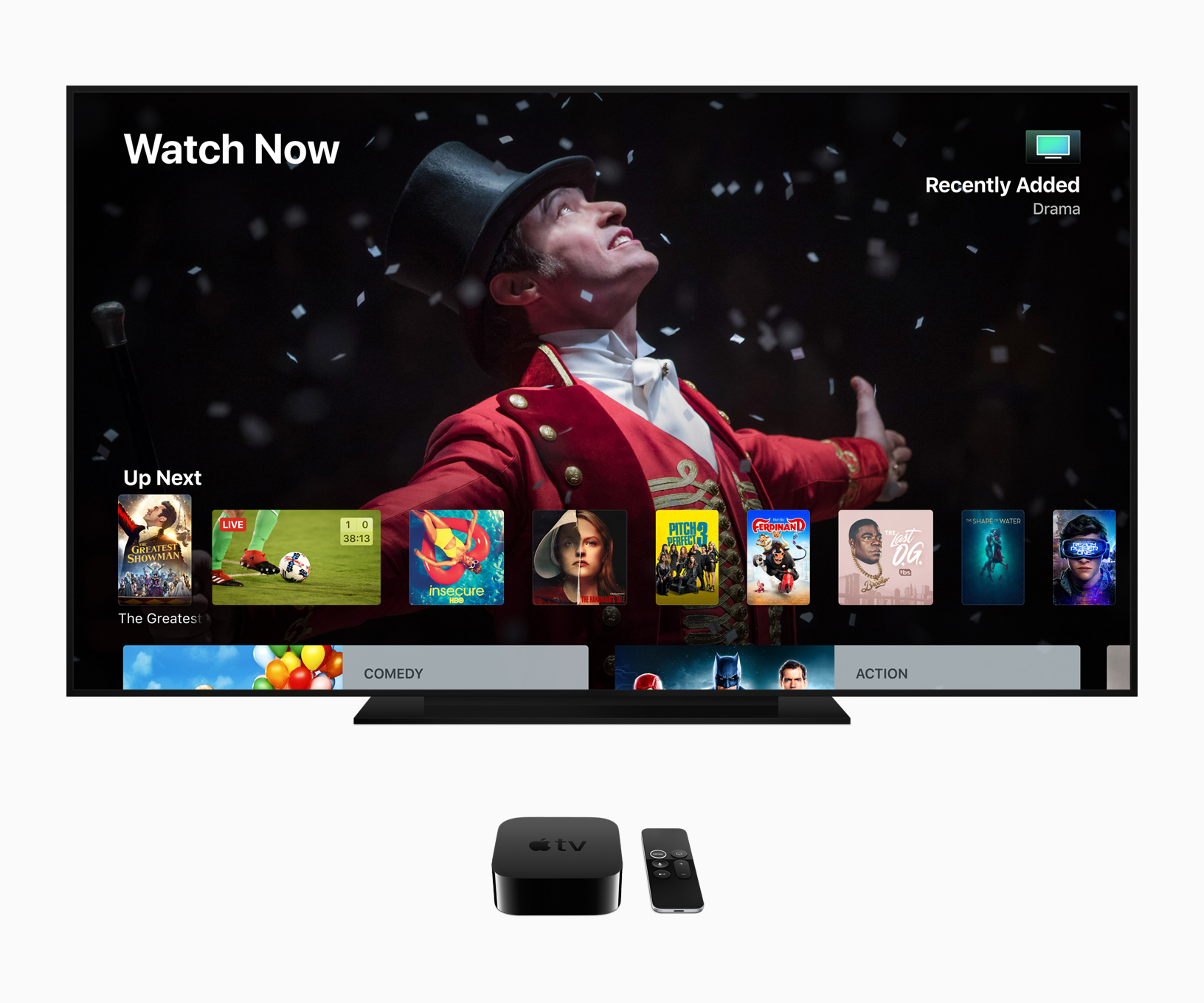 Example of Dolby Atmos on tvOS