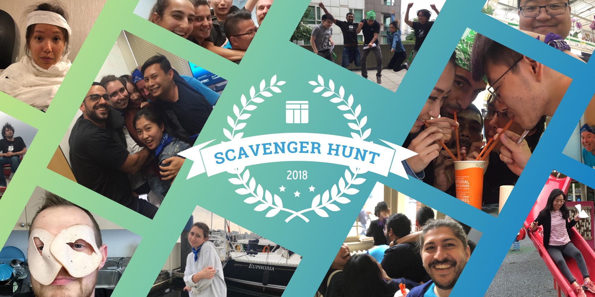 The 2018 TTT Scavenger Hunt