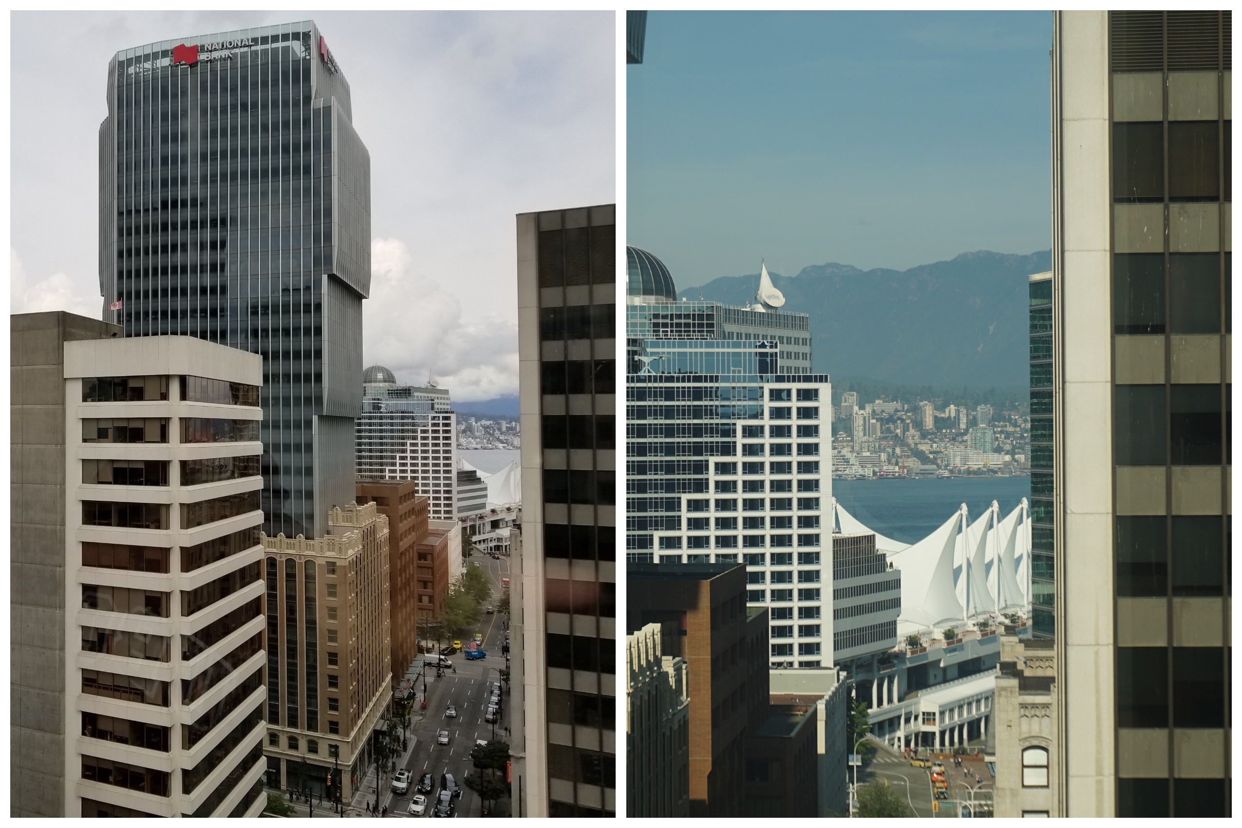 Vancouver buildings and skytline