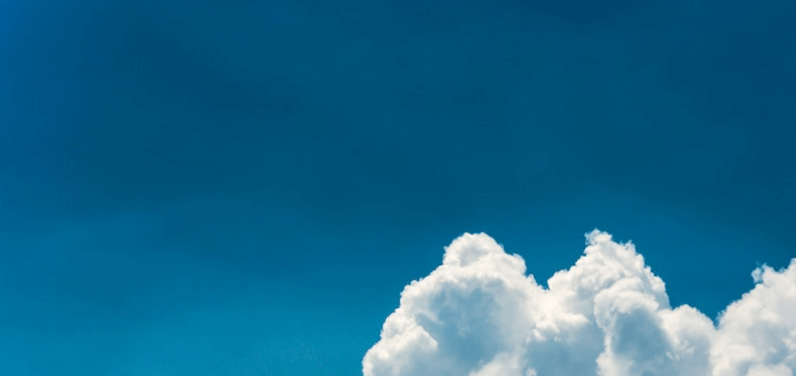 Picture of a cloud used for cloud computing