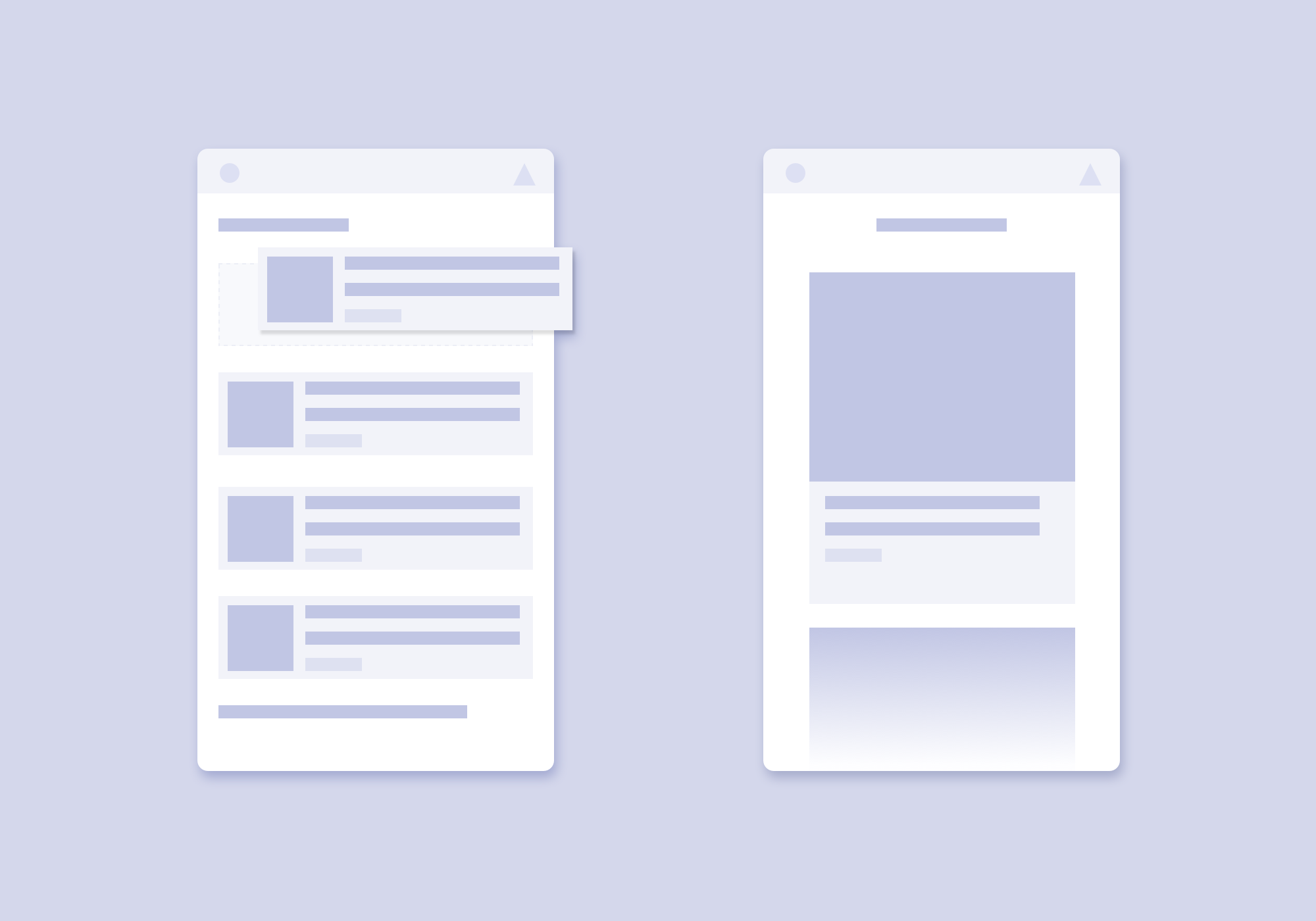 Wireframe for Understanding UX Competitor Analysis