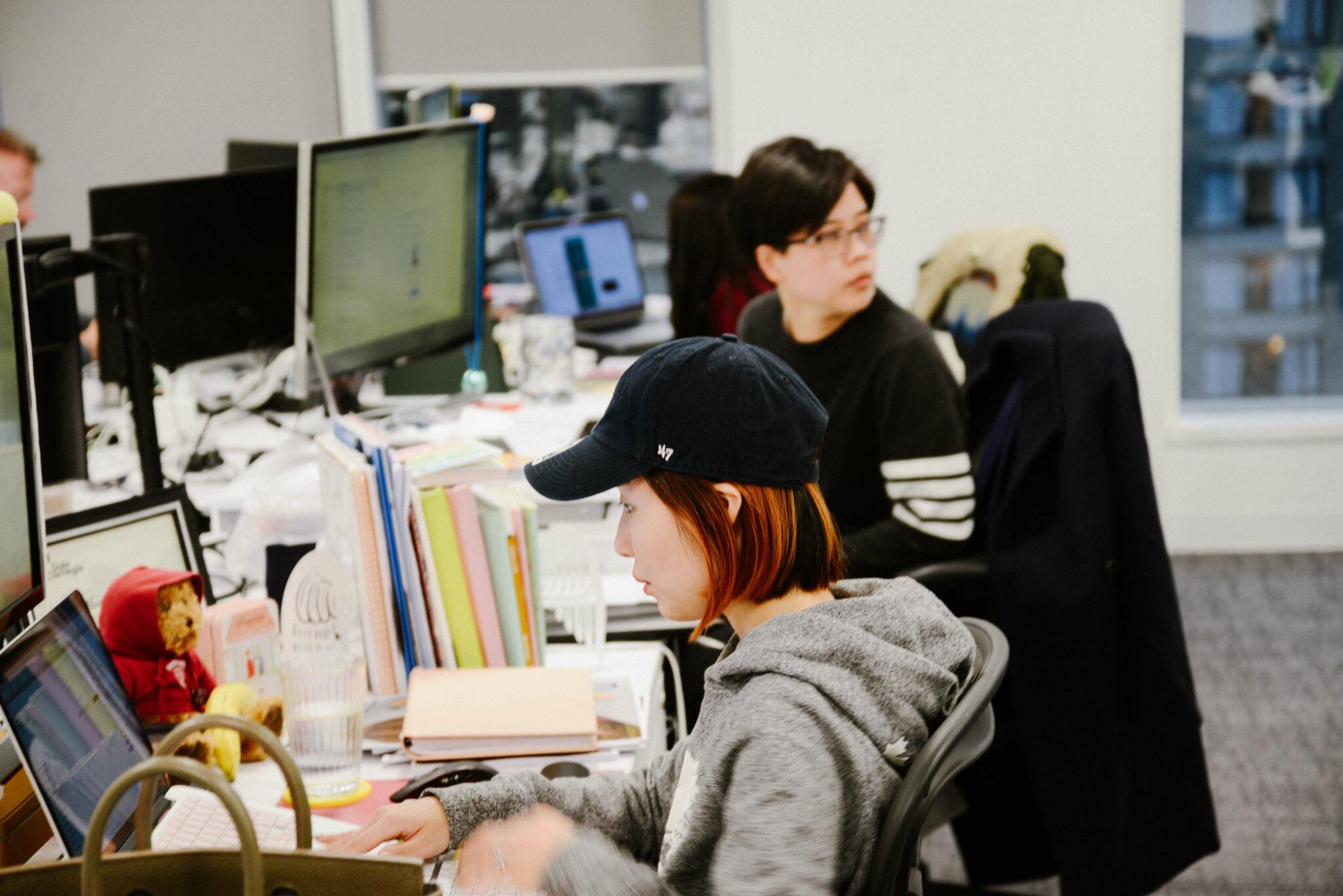 TTT Design Team hard at work