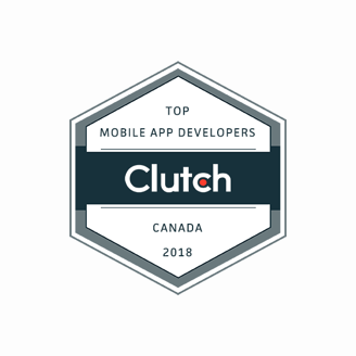 Top mobile app developers 2018 Clutch badge
