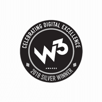 w3 Awards 2018 winner logo