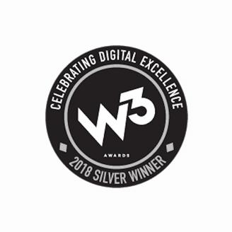 w3 Awards 2018 winner logo