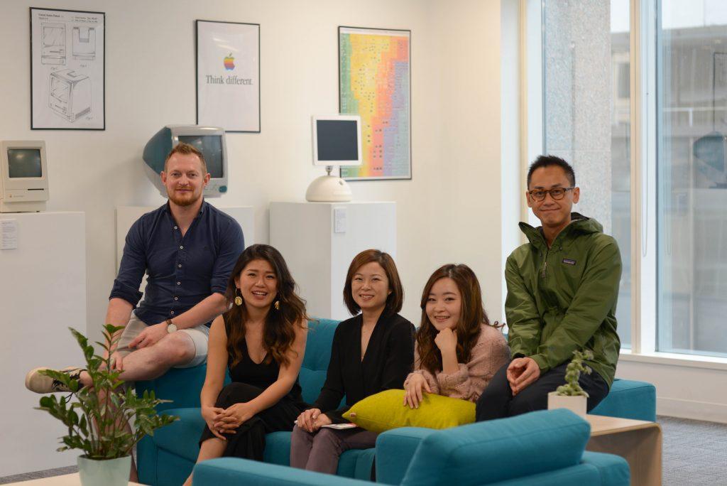 Photo of TTT design team
