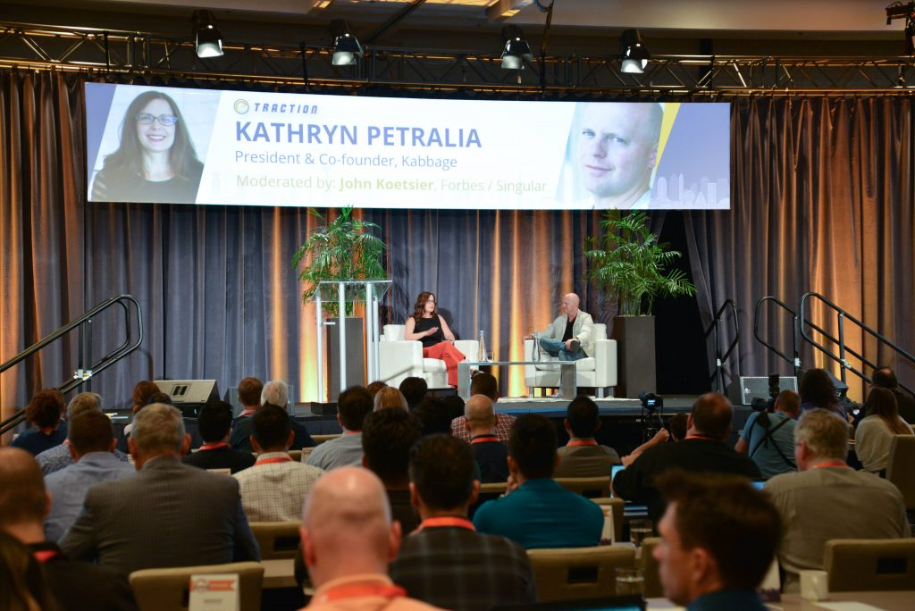 Fireside chat with Kathryn Petralia, president and co-founder of Kabbage