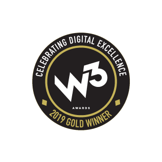 w3 2019 gold award badge