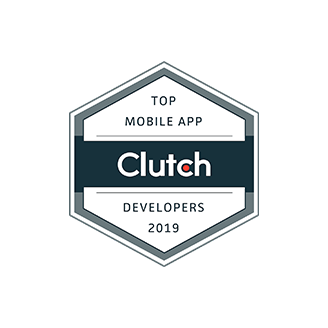 Clutch Top app developer 2019 badge