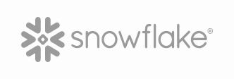 Black and white logo of snowflake