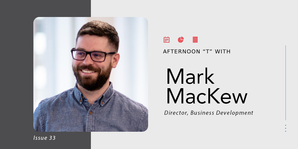 picture showing Mark Mackew, the Director of Business Development at TTT